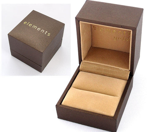 Elements Gold Ring Box