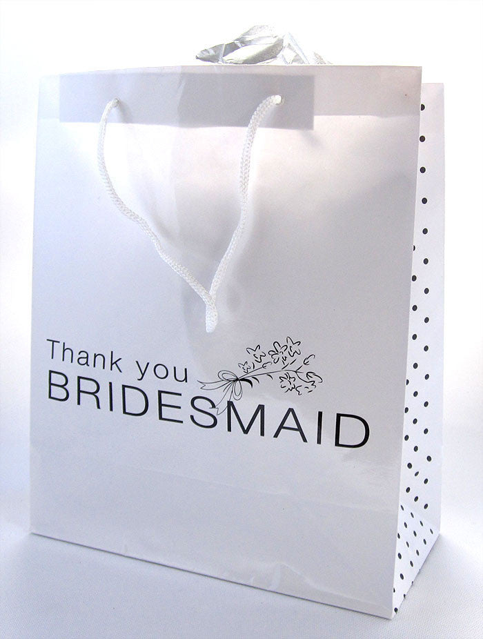 Thank You Bridesmaid Gift Bag