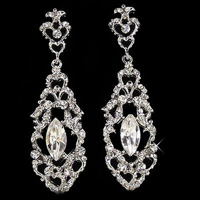 Amore Crystal Earrings