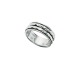 Warwick Twist Men's Silver Ring