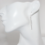 Waterfall Twist Sterling Silver Earrings