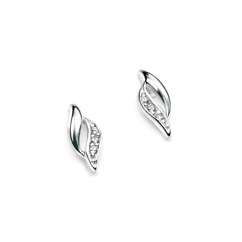 Beaumont Marquise Silver Earrings with Cubic Zirconia