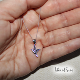 Come Fly with Me Sterling Silver Bird Pendant