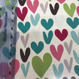 Flutter Hearts Craft Paper Gift Wrap
