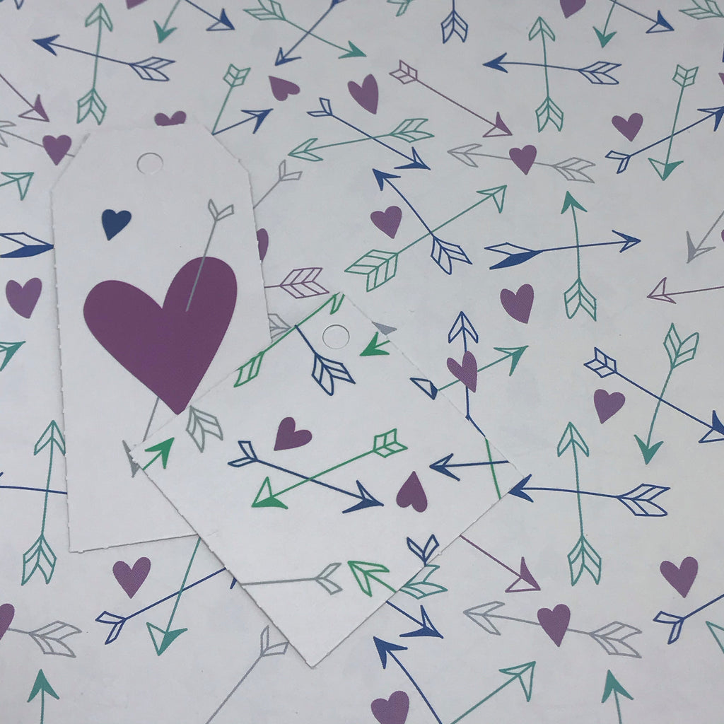 Arrow To Your Heart Craft Paper Gift Wrap