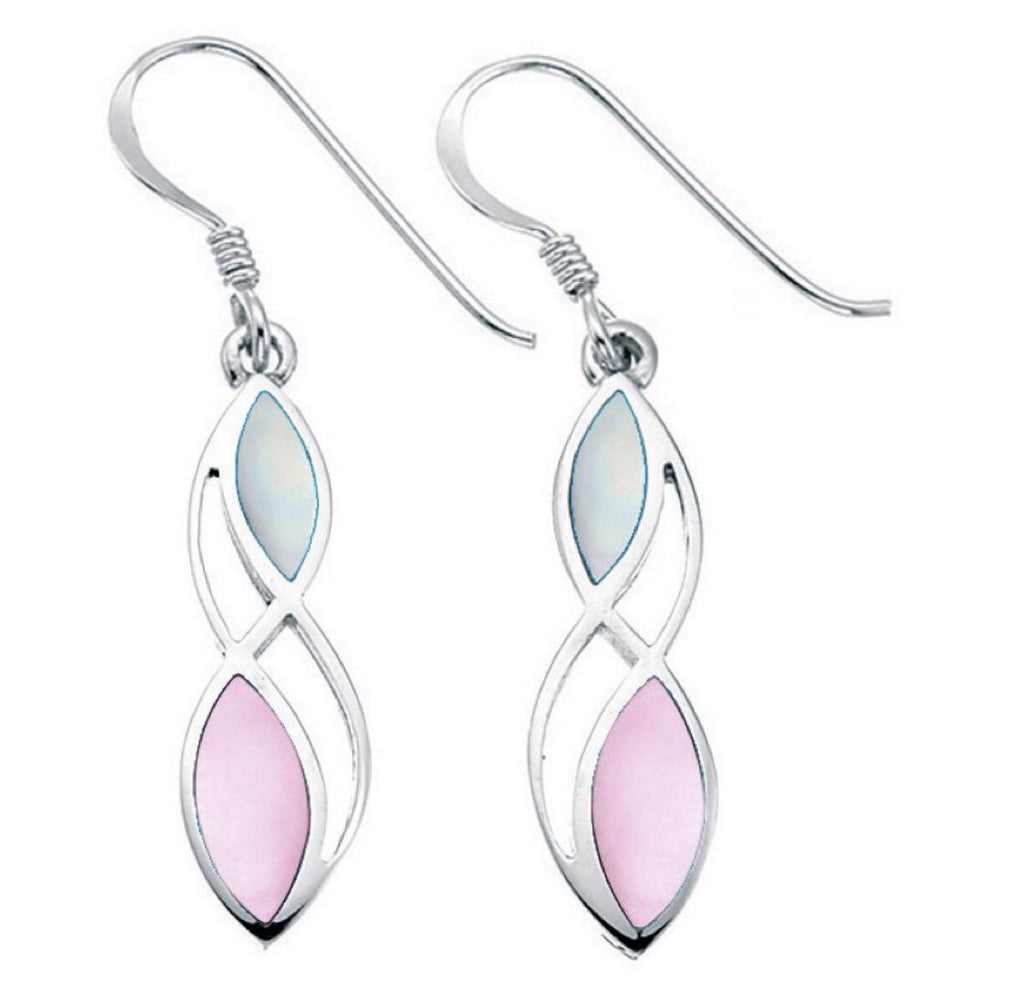 Tahlia Mother of Pearl Pink Earrings