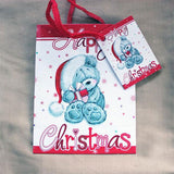 Mini Christmas Bear Gift Bag