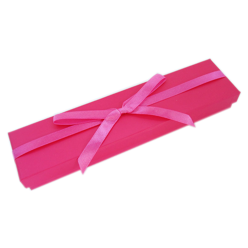 Hot Pink Bow Bracelet Box
