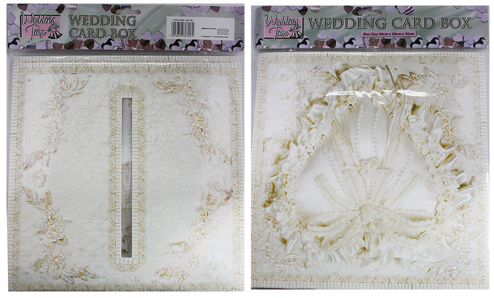 Pearl Heart Design Wedding Receiving Box image
