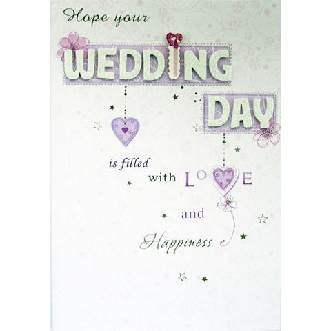 Wedding Day Handmade Card
