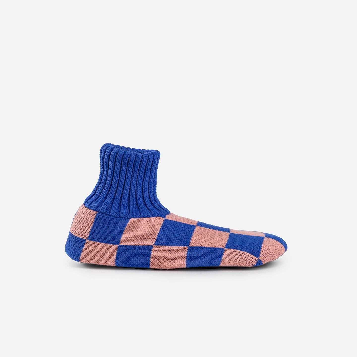 Checkerboard Sock Slipper
