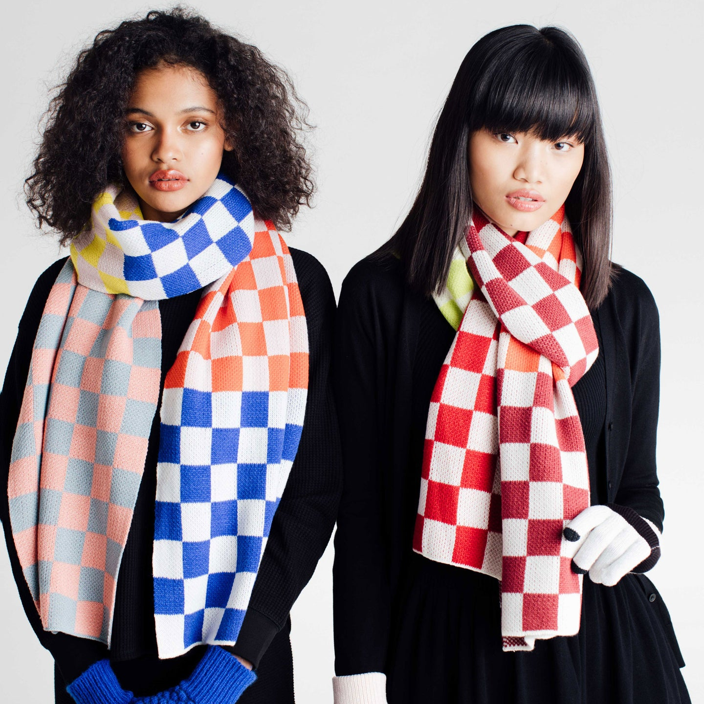 Checkerboard Scarf