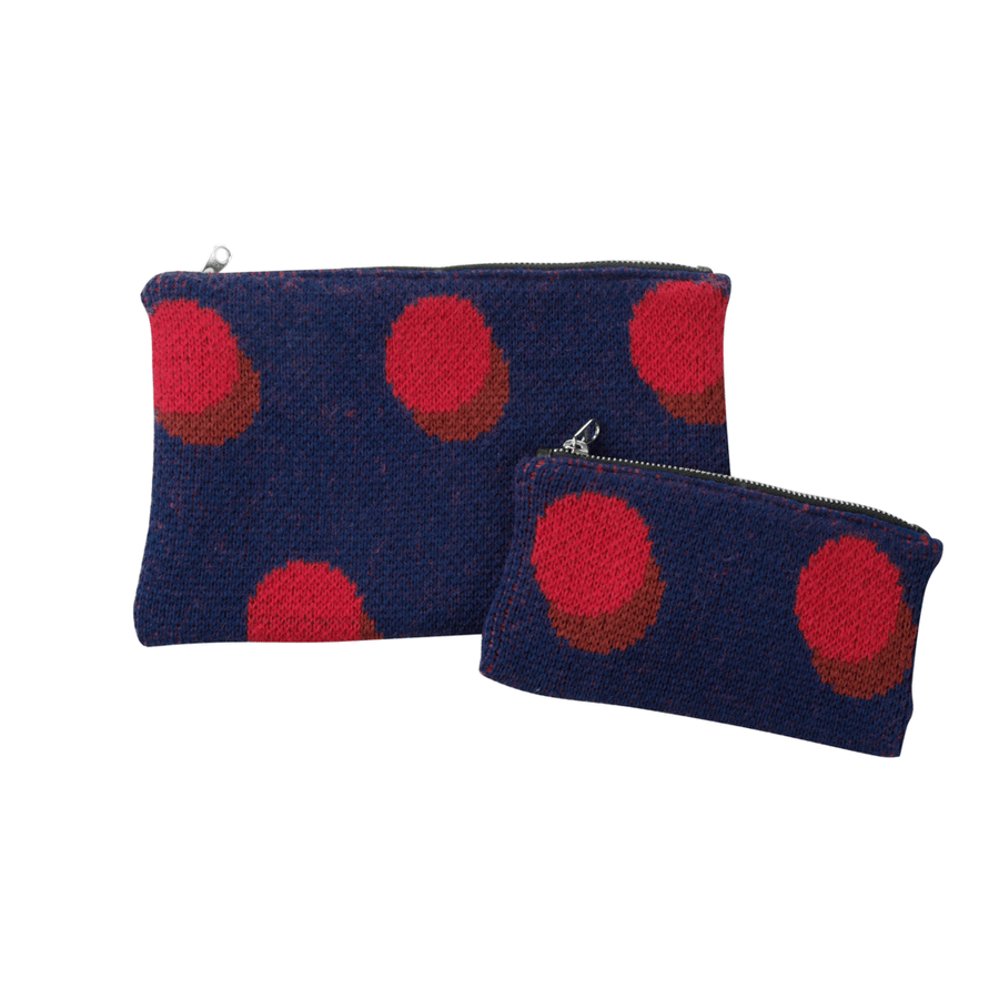 Navy | Eclipse Zip Pouch Set 2 two