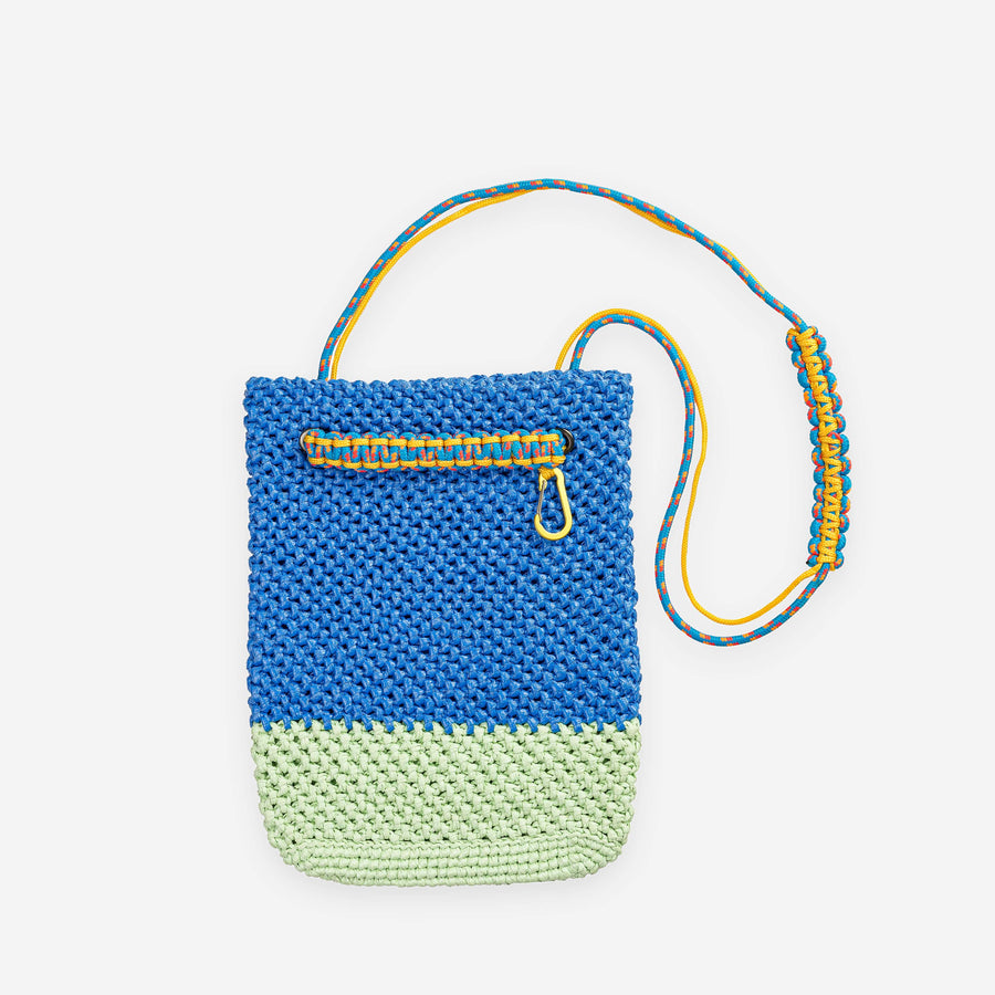 Mint Cobalt | Favela Shoulder Tote Bag