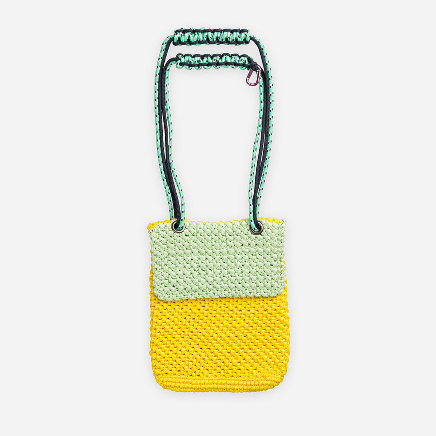 Yellow Mint | Favela Colorblock Mini Satchel
