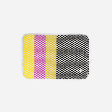 Black | Folkweave Tablet Ipad Zip Case