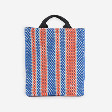 Blue | Folkweave Work Knit Bag