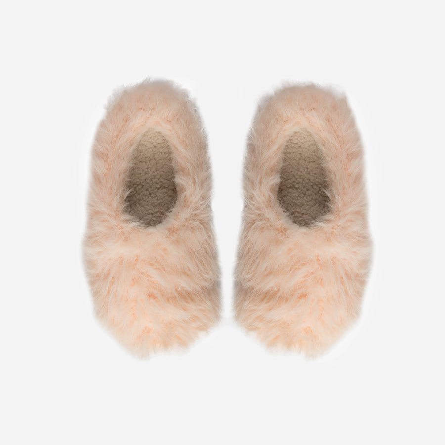 Poppy | Faux Fur Slippers