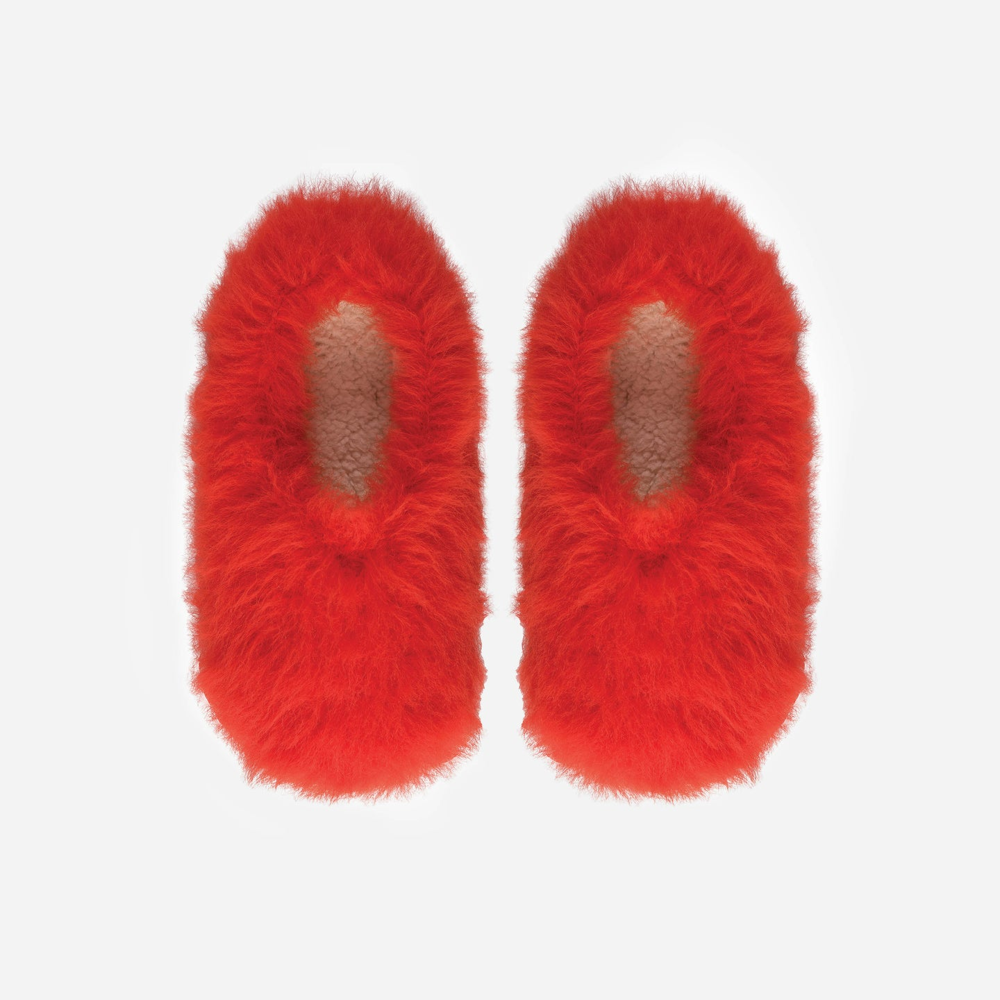 Faux Fur Fuzzy Slippers
