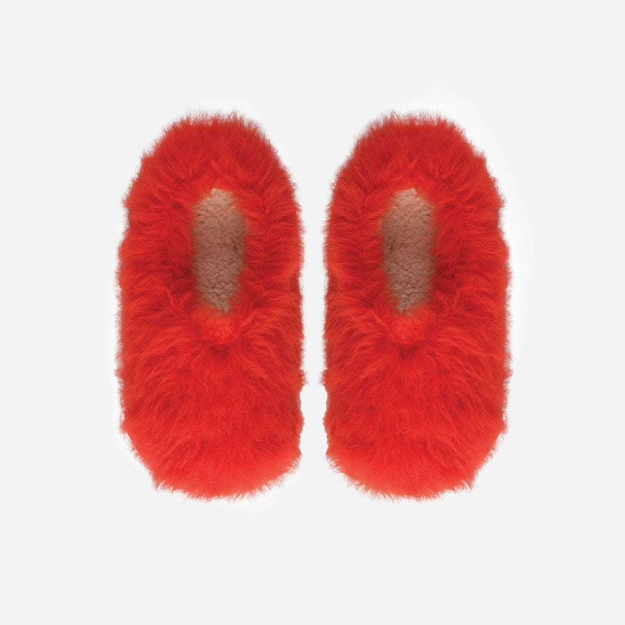 Poppy | Faux Fur Fuzzy Slippers