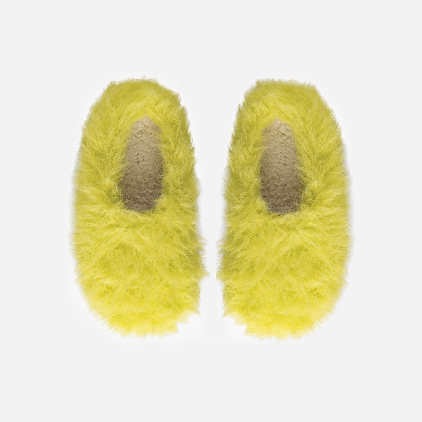Faux Fur Fuzzy Hairy Slippers