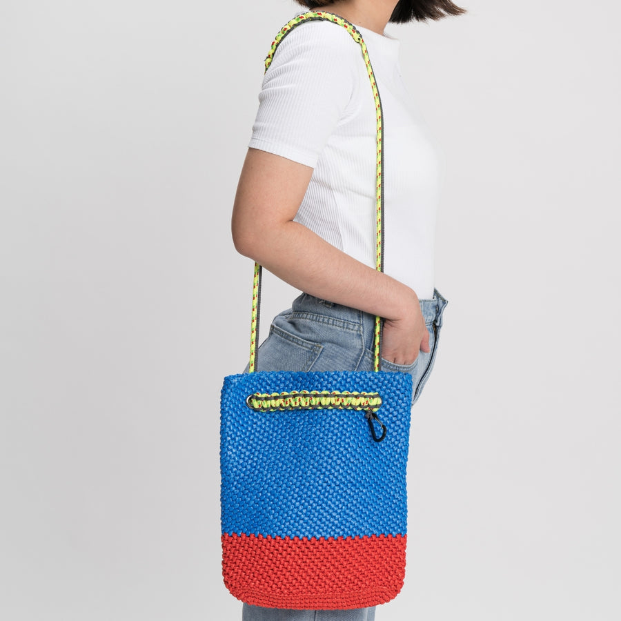 Cobalt Red | Favela Shoulder Tote Bag