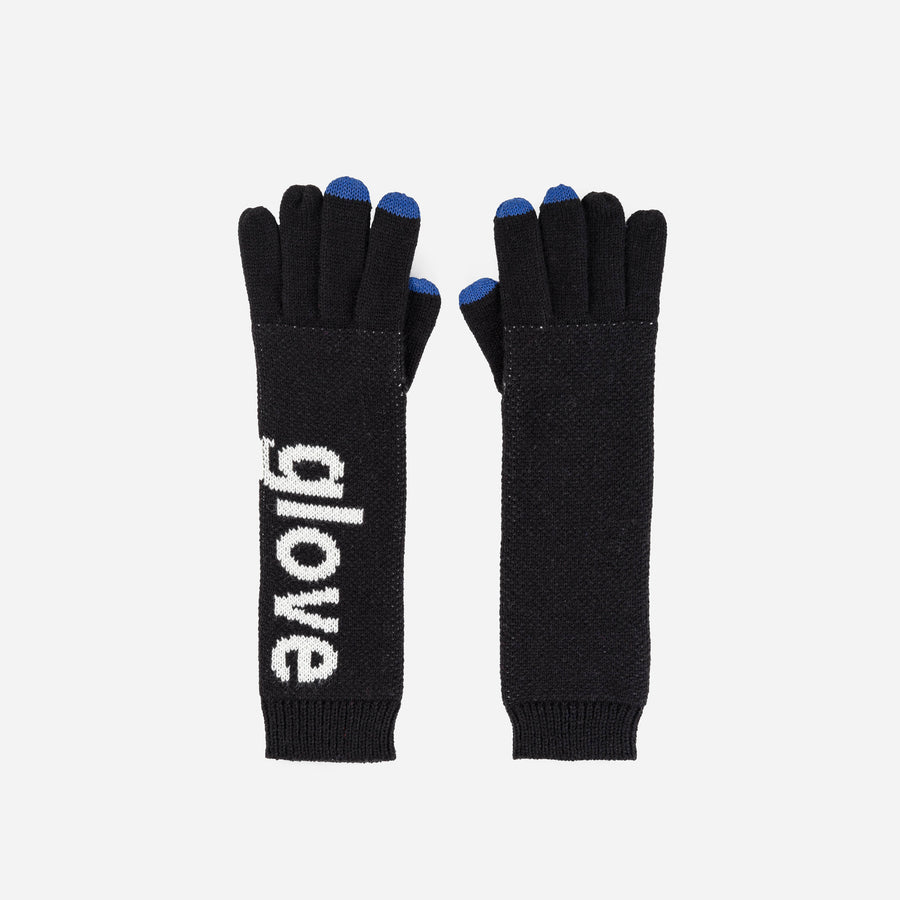 Black | Glove Glove Letters Typography Block