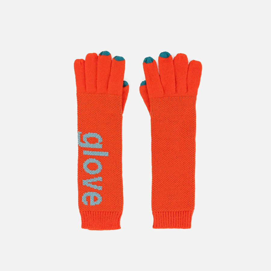 Typography Gloves