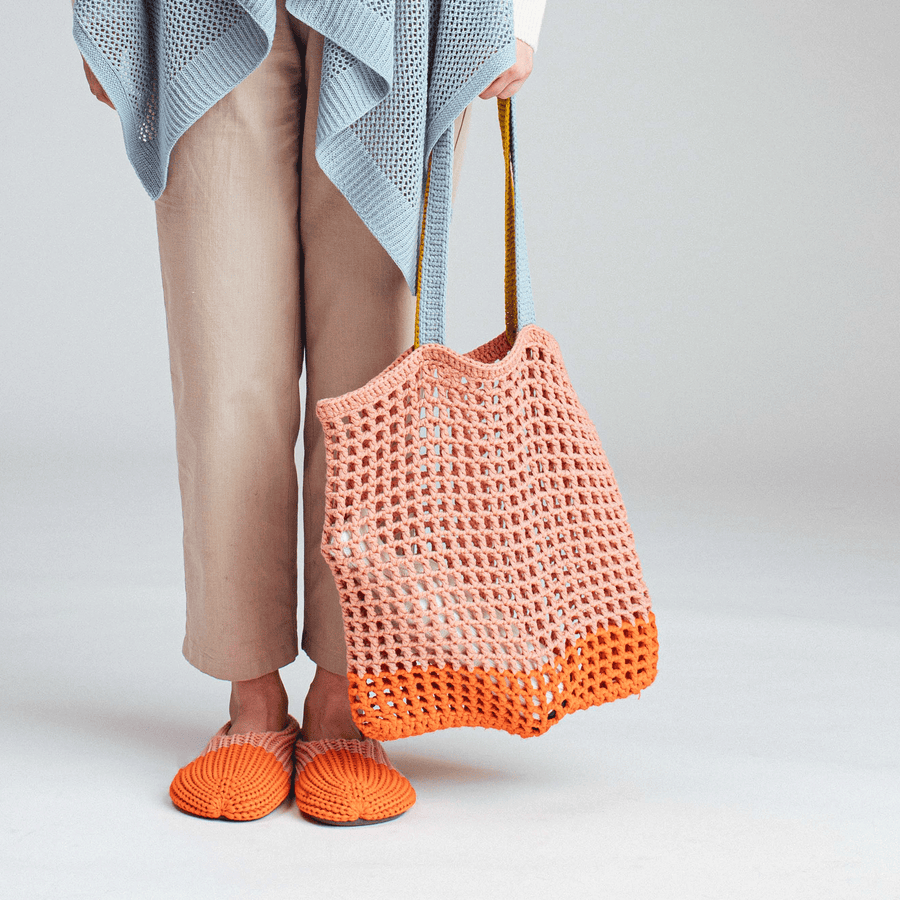 Grid Knot Bag
