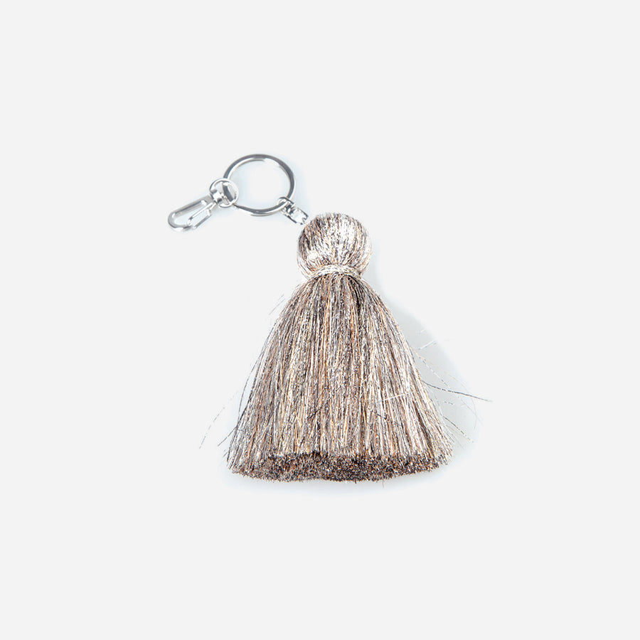 Mixed Metallics | Hidden Tassel Color Keychain