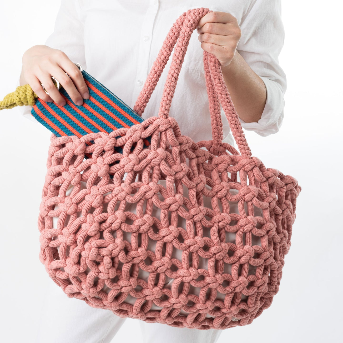 Knotted Carryall Tote