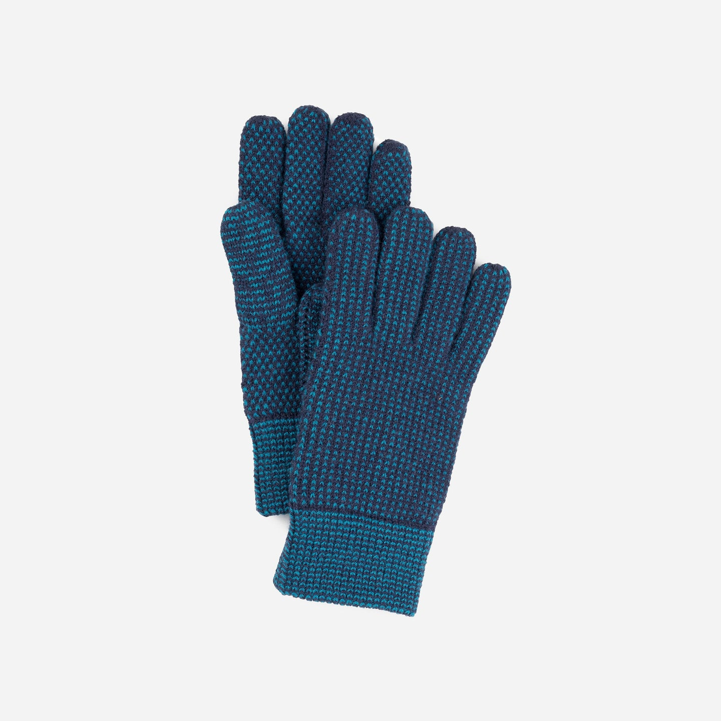 Mixed Stitch Gloves Stretch Lined Gloves
