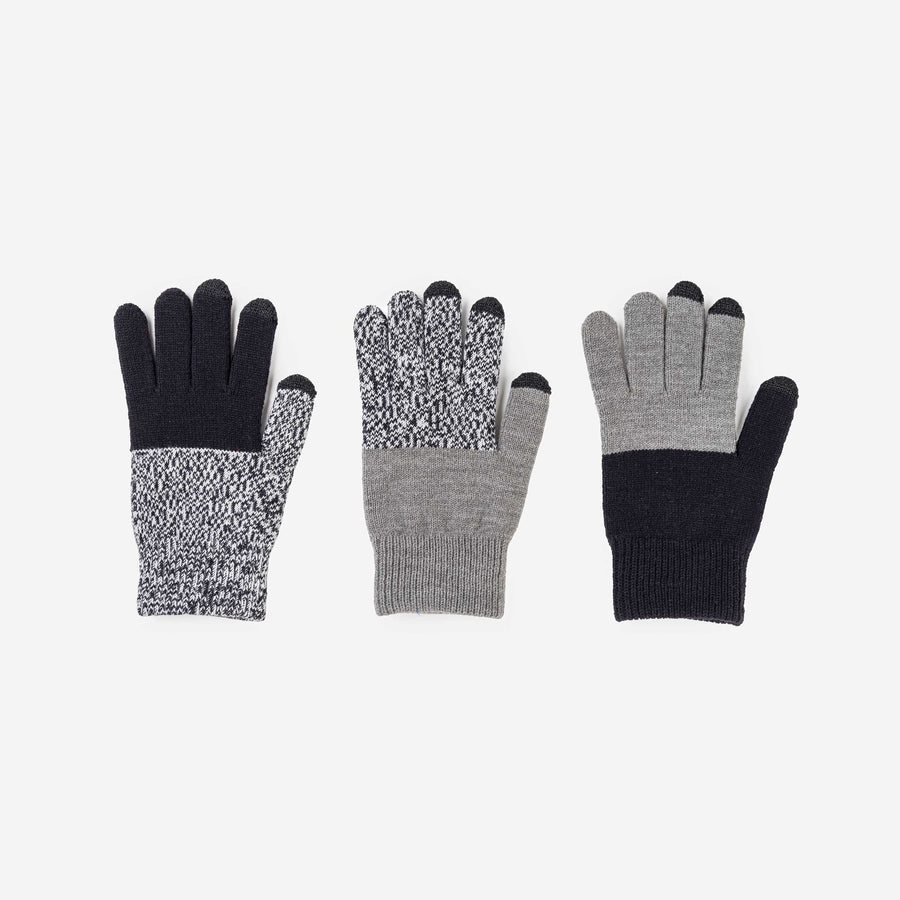 Black Marl | Pair and a Spare 3 Three Gloves