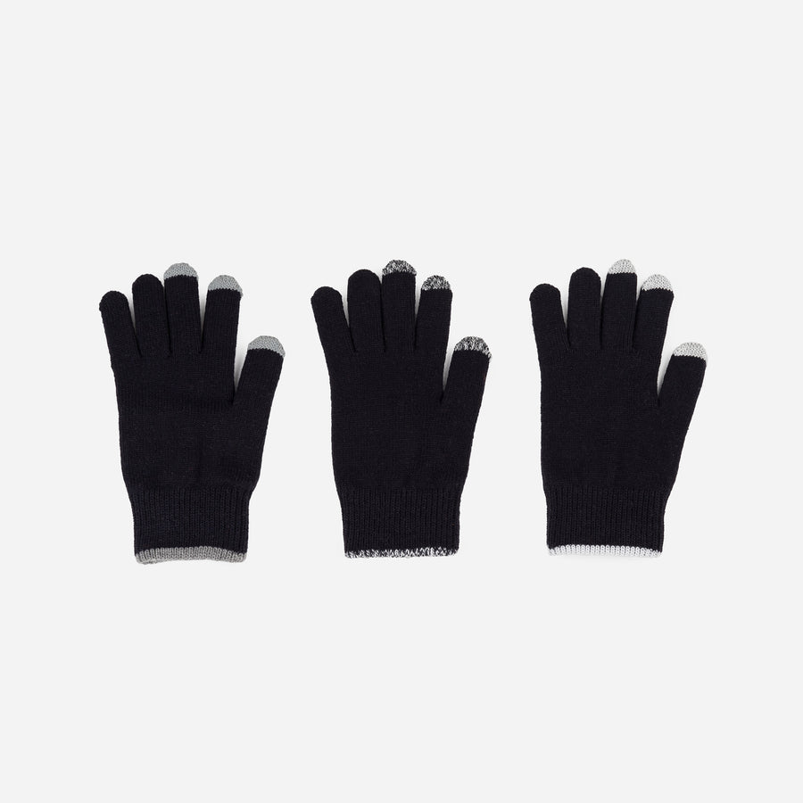 Black | Pair and a Spare 3 Three Gloves