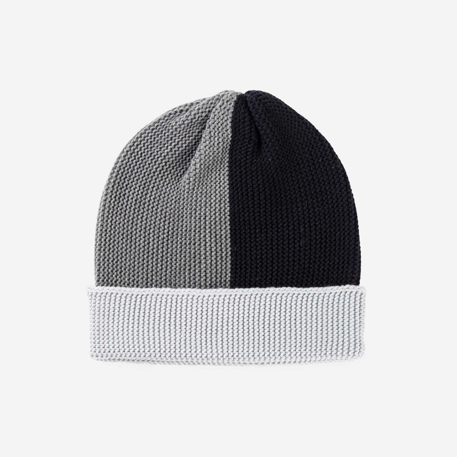 Black Grey | Polder Colorblock Cuff Hat
