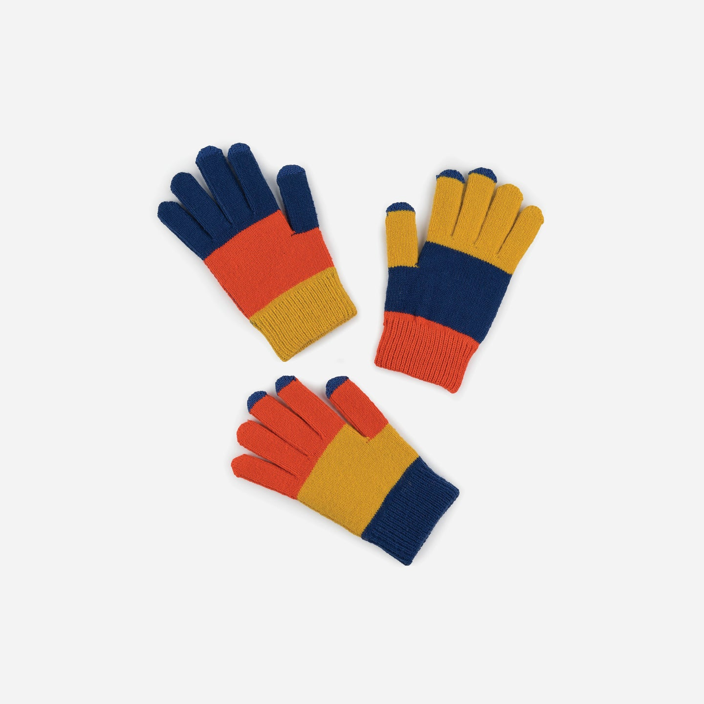 Pair and Spare Three 3 Gloves Set Kids