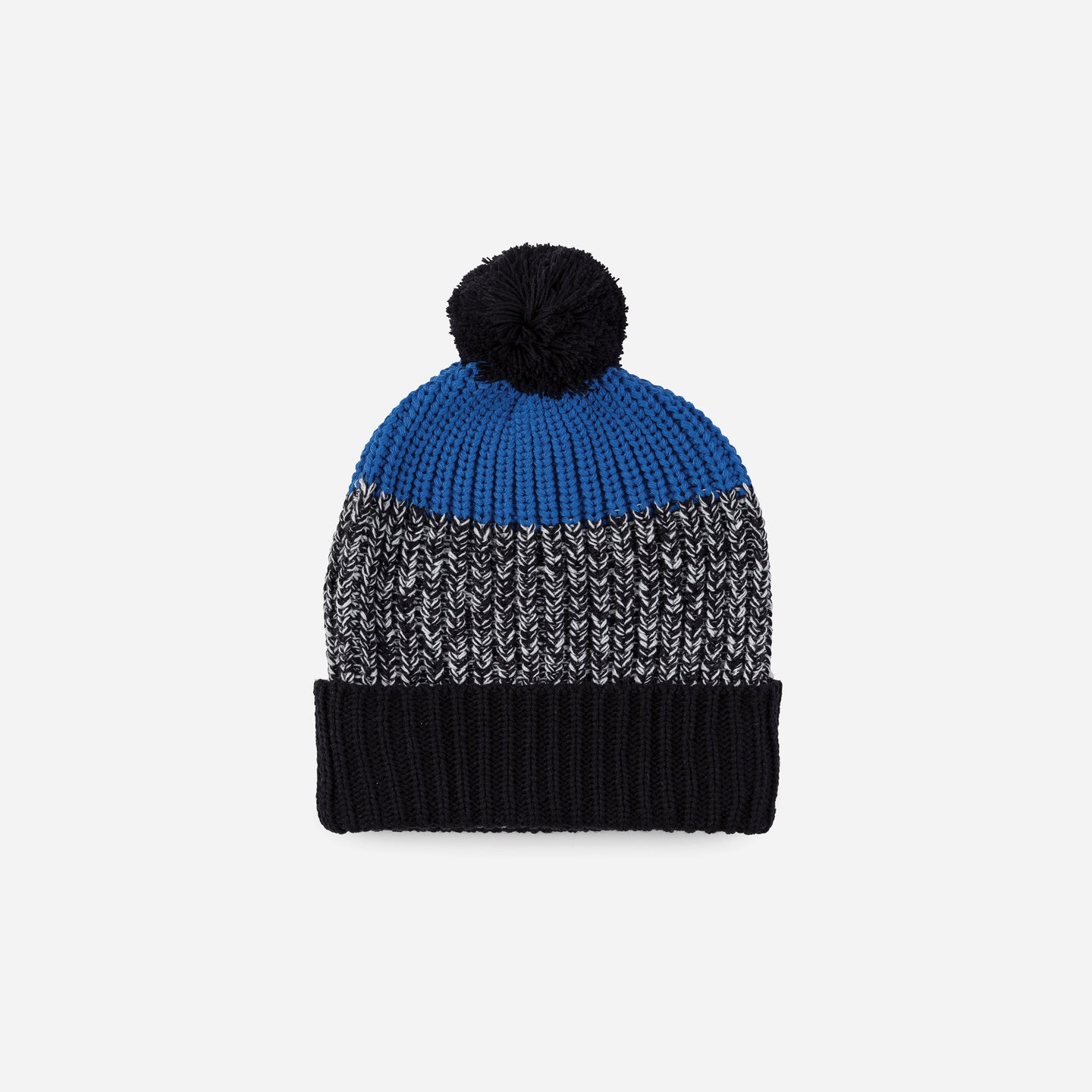 Kids Pom Hat Knit