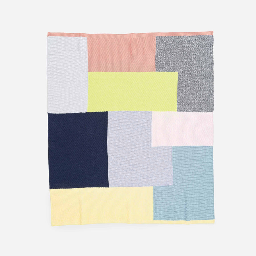 Patchwork Block Throw