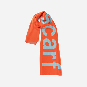 Poppy | Scarf Scarf Scarf Oversized Type Letters Scarf Knit
