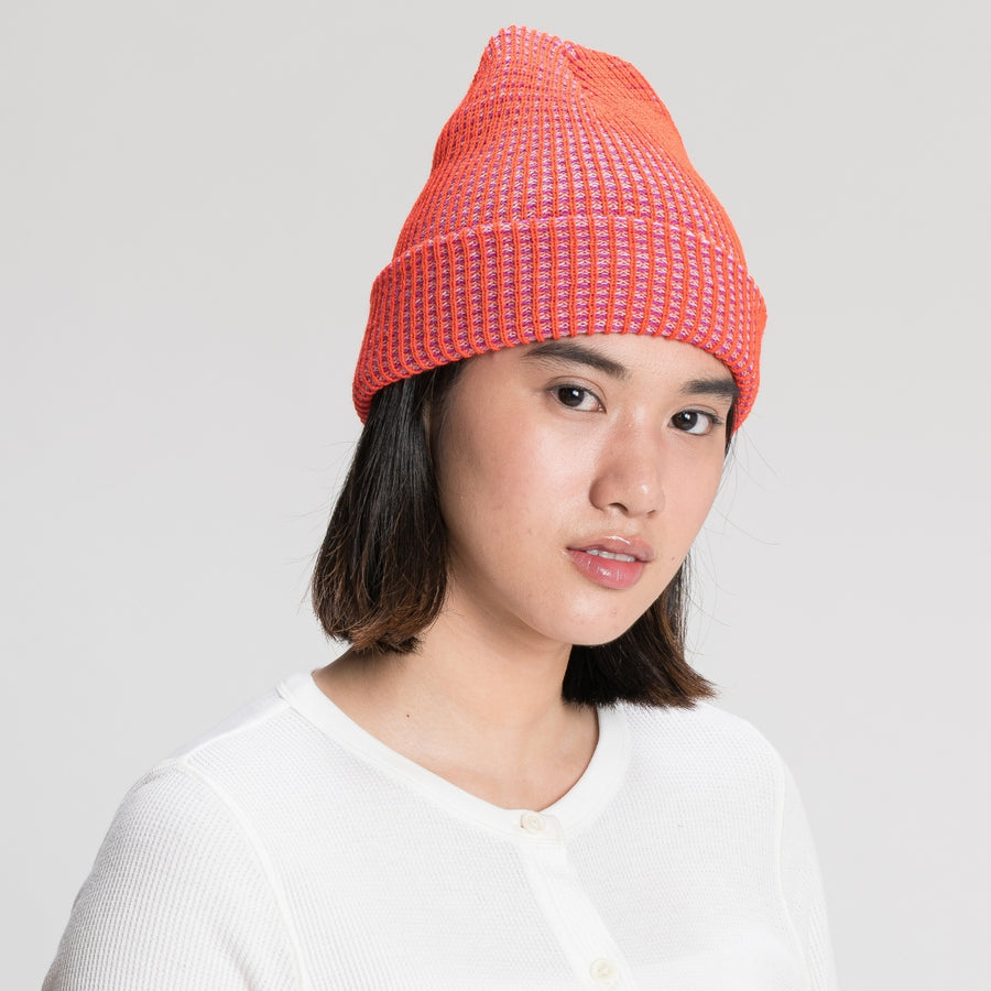 Poppy Lilac | Grid Simple Rib Hat