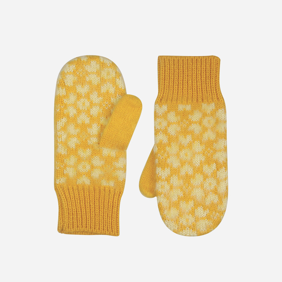 Yellow | Sakura Kids Mittens