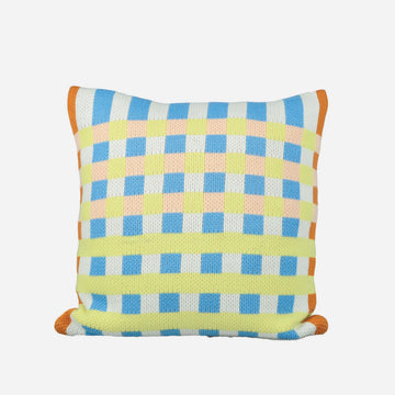 Stone Blue | Square Square Pillow Cover