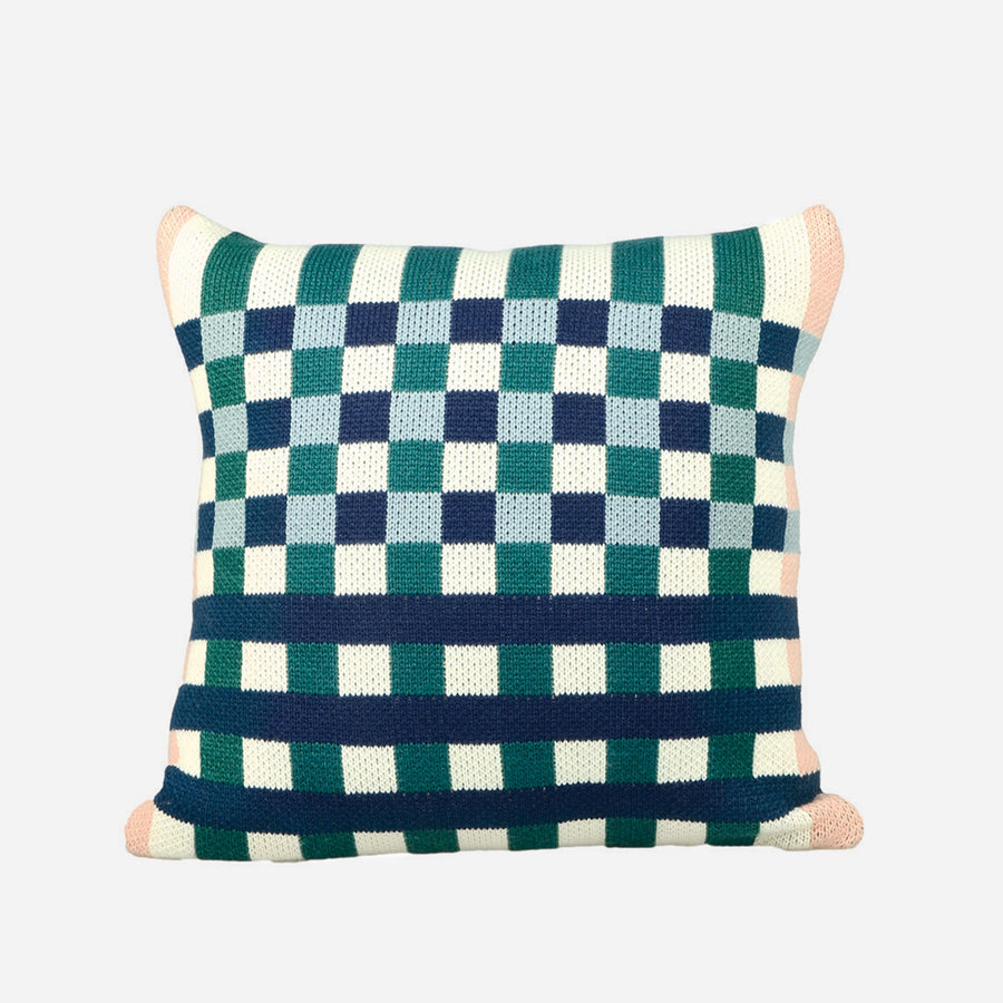 Navy | Square Square Pillow Cover