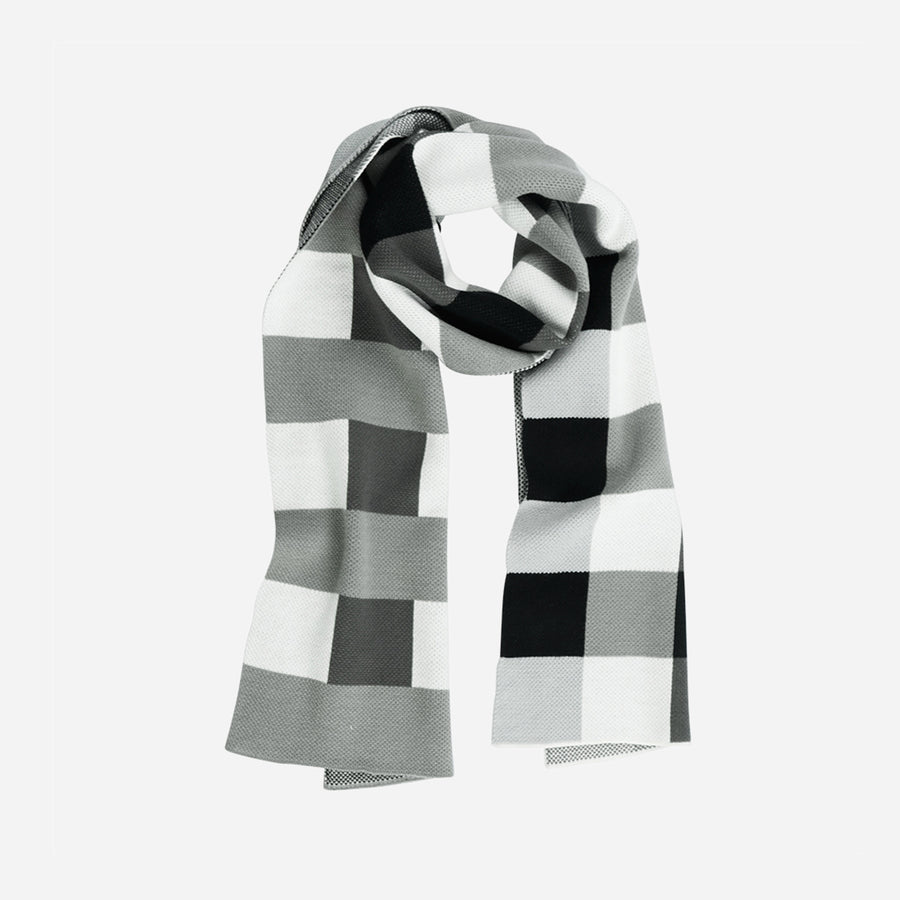 Navy | Square Square Scarf