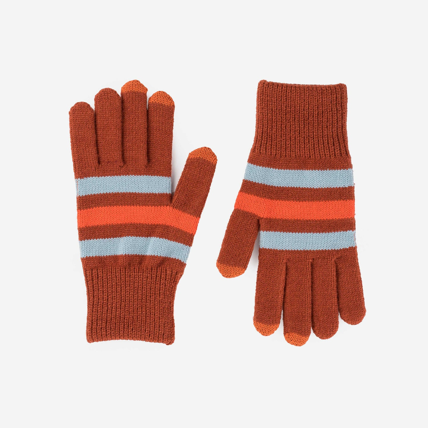 Stripe Touchscreen Gloves