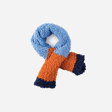 Blue | Teddy Scarf Faux Fur Kids