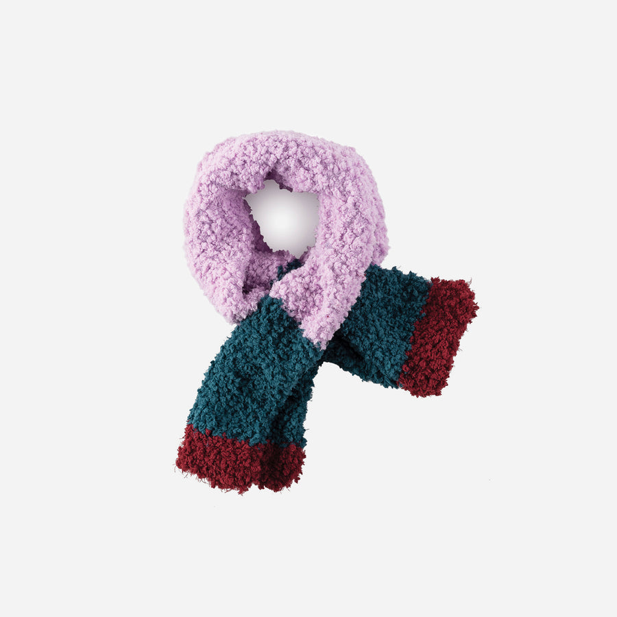 Lilac | Teddy Scarf Faux Fur Kids