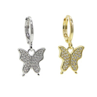 Crystal Butterfly huggies
