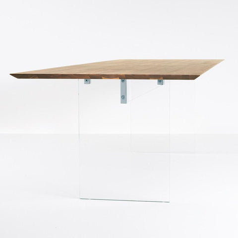 Luxury German made solid wood dining tables and other contemporary furniture from More Mobel