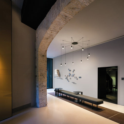 Spanish lighting from Vibia - contemporary feature lighting